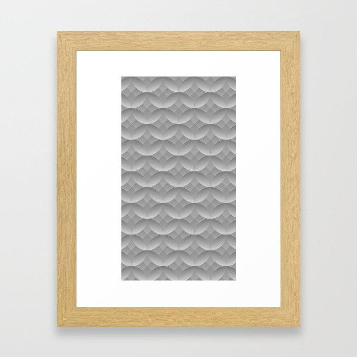 Circles & Stars Framed Art Print