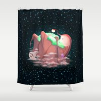 mother Shower Curtains featuring Mother by Seez