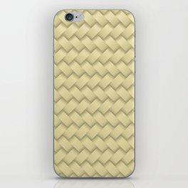 hay woven iPhone Skin