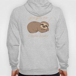 Sloth - 5 More Hours Hoody