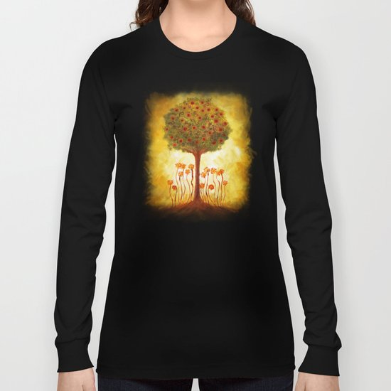 positive energy from the tree Long Sleeve T-shirt