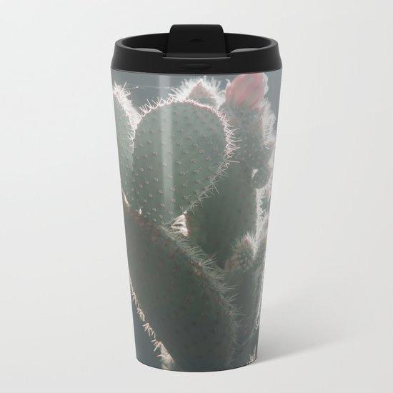 cactus hearts Metal Travel Mug