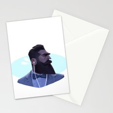 Manly Man Stationery Cards