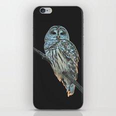 Owl, See the Moon iPhone & iPod Skin