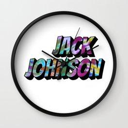 Jack Johnson Wall Clock