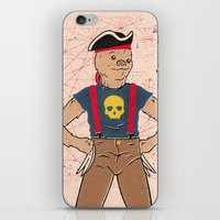 sloth iPhone & iPod Skins featuring Sloth by Derek Eads