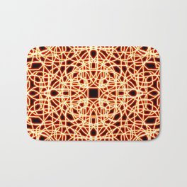 Flaming Chaos 3 Bath Mat