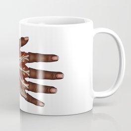 Anatomy of a Hand - Colour Coffee Mug