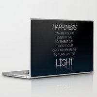 dumbledore Laptop & iPad Skins featuring Harry Potter Albus Dumbledore Quote by raeuberstochter