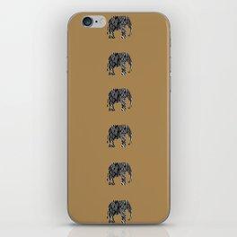 Zebra Elephant Safari iPhone Skin