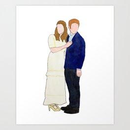 Dr. & Dr. FitzSimmons Art Print