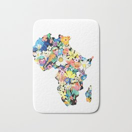 Map of Africa Bath Mat