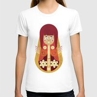 doll T-shirts featuring Doll by Roxie Emm