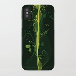 Glowing Vines iPhone Case