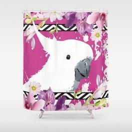 Sulphur-crested Cockatoo Shower Curtain