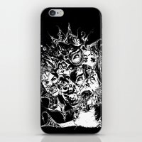 nightmare iPhone & iPod Skins featuring Nightmare by George Peters