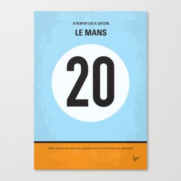 No038 My Le Mans MMP Canvas Print