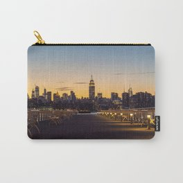 Sunset in New York City (Color) Carry-All Pouch