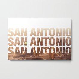 San Antonio Landscape Metal Print