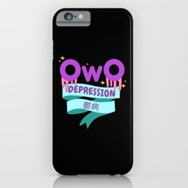 Yami Kawaii UwU OwO Whats This Pastel Goth Gift iPhone Case