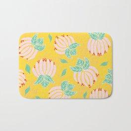 Blush Bloom Peony Lemon Bath Mat