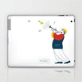 Trumpeter Laptop & iPad Skin