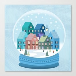 Snowglobe Canvas Print
