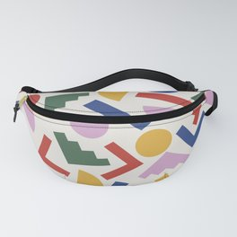 Colorful Geometric Shapes Fanny Pack