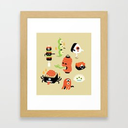 Izakaya Monsters Framed Art Print