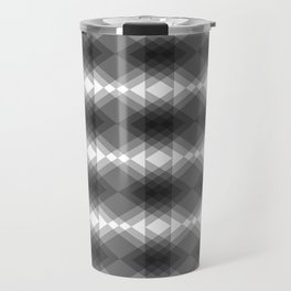 Triangles Merging Travel Mug