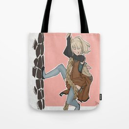 The Golden Stair Job Tote Bag