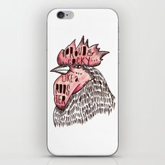 Proud Like a Rooster iPhone & iPod Skin