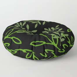Leafy Green Floor Pillow