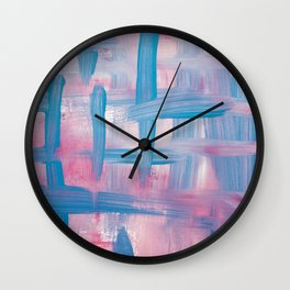Impulse Abstract Wall Clock