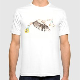 Baby on Bird T-shirt