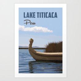 Lake Titicaca Art Print