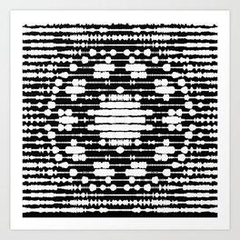 openwork 2 Art Print