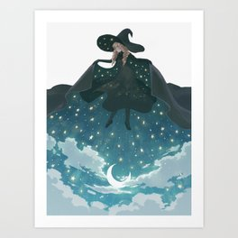 Pick the night up Art Print