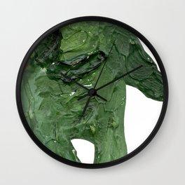 el monstro verde Wall Clock