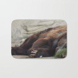 Grizzly Bear, San Antonio Zoo Bath Mat