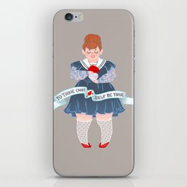 To Thine Own Self iPhone Skin