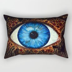 Dark Eye Rectangular Pillow