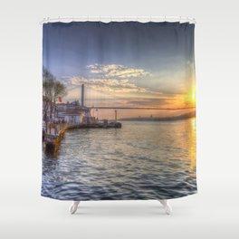 Istanbul Turkey Bosphorus Shower Curtain