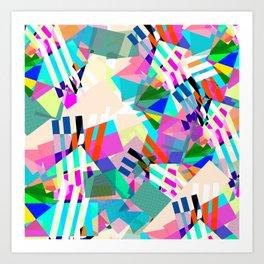 Patsy & Edina Art Print