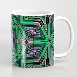 Abstract, modern, geometric, multicolored pattern Coffee Mug