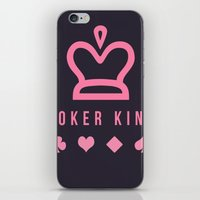 poker iPhone & iPod Skins featuring Poker king by Ante Penava