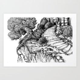 Ancient Tree III Art Print