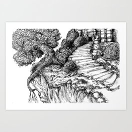 Ancient Tree III Art Print