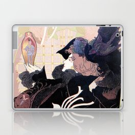 1899 Art nouveau auction journal ad Laptop & iPad Skin