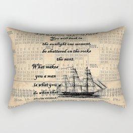 Count of Monte Cristo quote Rectangular Pillow